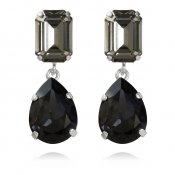 CAROLINE SVEDBOM - LYDIA SHORT EARRING / BLACK DIAMOND+GRAPHIT