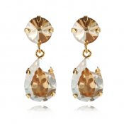 CAROLINE SVEDBOM - CLASSIC DROP EARRING - GOLDEN SHADOW