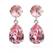 CLASSIC DROP EARRING-LIGHT ROSE