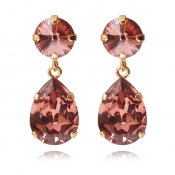 CAROLINE SVEDBOM - CLASSIC DROP EARRING / BLUSH ROSE