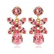 mini dione earring light rose