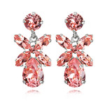 DIONE EARRING-LIGHT ROSE