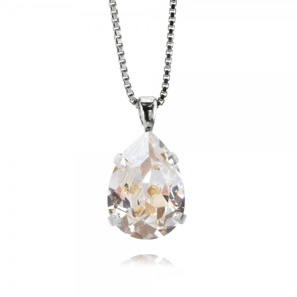 CAROLINE SVEDBOM - MINI DROP NECKLACE / CRYSTAL