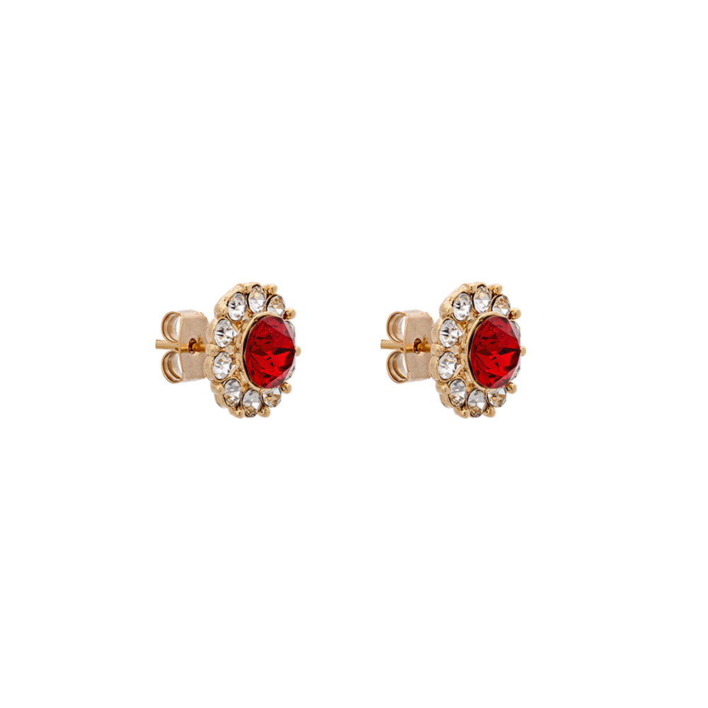 LILY AND ROSE - MISS SOFIA EARRINGS - SCARLETT RED
