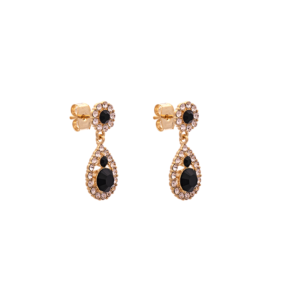 LILY AND ROSE - Petite Sofia Earrings - Jet